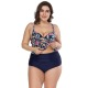 Private Label Size 20 Swimsuits Women Swimming Suits Plus Size