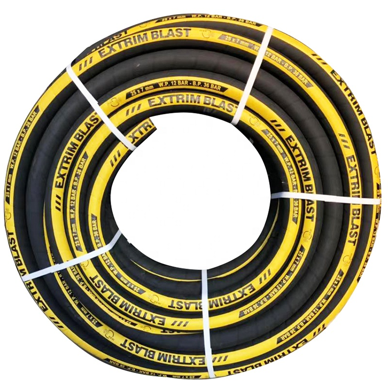 China sale 40m 12bar 32mm rubber sand blasting <strong>hose</strong>