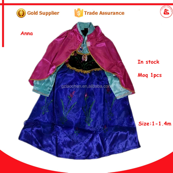 in stock princess frozen anna fancy dress wholesale cosplay halloween costumes for girls  sc 1 st  Wholesale Alibaba & In Stock Princess Frozen Anna Fancy Dress Wholesale Cosplay ...