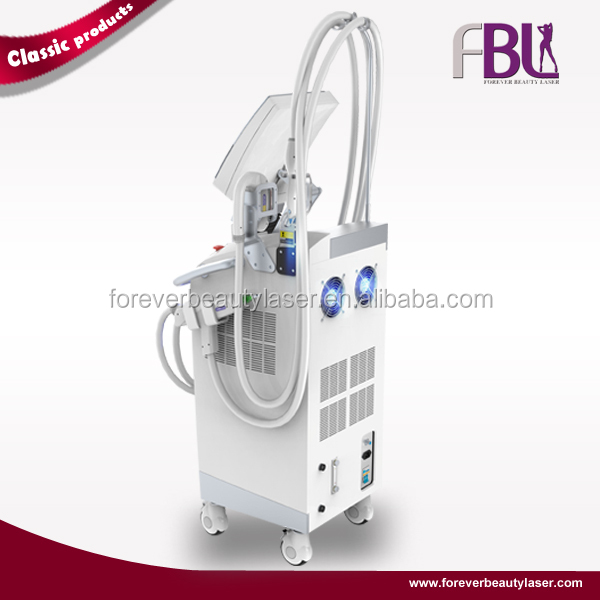 Vertical IPL+shr skin care facial beauty machine/high quality skin rejuvenation nd yag laser beauty