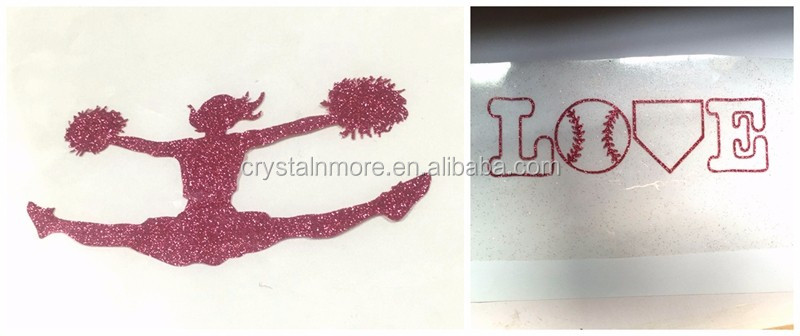 Pink Soccer Mom Heat Press Glitter Transfers for apparel