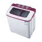 CE CB ISO9001 certificates Twin tub semi automatic clothes washing machine mini clothes washer