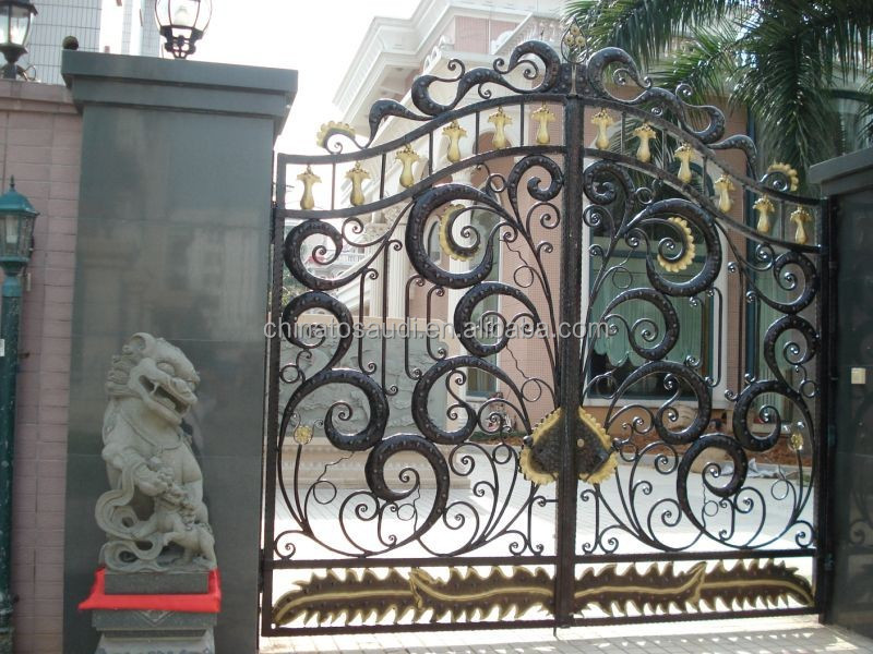 Wrought Iron Gate Designs For Homes, Wrought Iron Gate Designs For Homes  Suppliers And Manufacturers At Alibaba.com