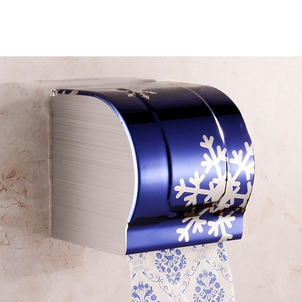 Stainless steel toilet tissue box/ toilet tissue paper holder/Box/Waterproof toilet paper box/ toilet roll holder-E