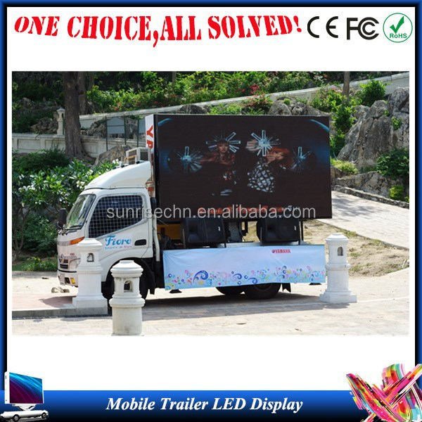 Advertising Truck Mobile Led Display/led Walking Billboard
