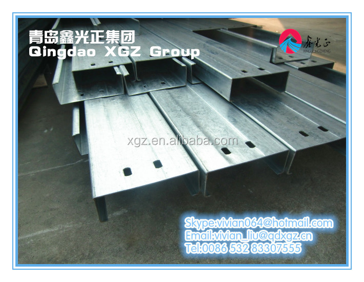 XGZ prefabricated steel structure materials painted or galvanized