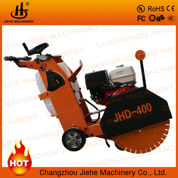 Top sale push model concrete core cutting machine with a free saw blade,names road construction machinery(JHD-400)
