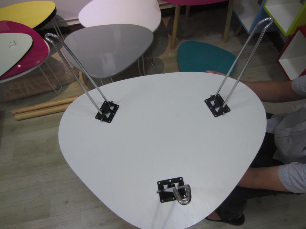 Furniture Accessory Standard Size Folding Steel Hairpin Table Legs