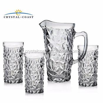 7pcs Glass Water Jug Set