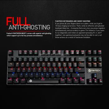 3f739540f83 Rgb Backlit Mechanical Keyboard Amazon Top Seller 2017 Fantech Mk871 ...