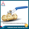 1-2'',3/4'' dn15-dn20 brass ball valve with long handle and high pressure chine supplier in TMOK