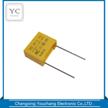 Interference suppression metallized polypropylene x2 capacitor mpx/mkp 0.22uf 275v