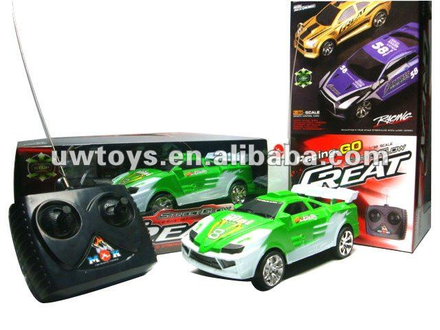 2012 hot selling 4 CH toy rc car race