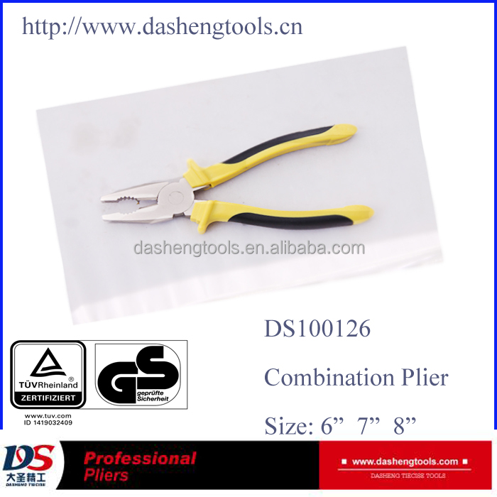 Multi functional hand tools manufacturer of Combination plier DS100126