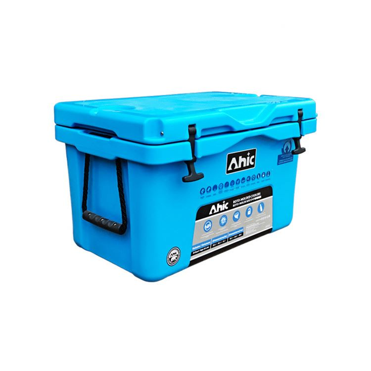 Il disegno su misura di plastica scatole di raffreddamento del ghiaccio per il campeggio esterno