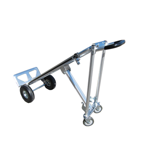 China supplier 4 wheels multi function aluminum hand truck trolley price
