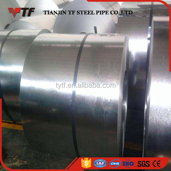 China steel mills High quality steel gi coil dx53d oiled