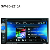 Hotsale 6.2 inch 2 din car dvd player for universal car with GPS+Bluetooth+DVD+RADIO
