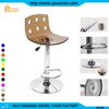 XQ-869 Modern Style Factory Price Swivel Lift Adjustable Acrylic Bar Stools With Low Back