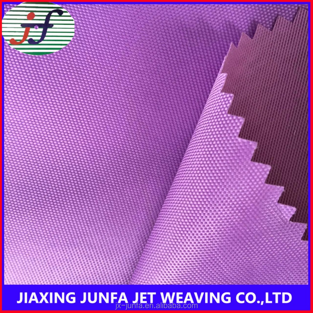 100% polyester plain weaving waterproof PVC coated wholesale 420d oxford fabric for bag