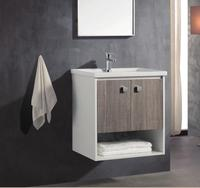 "600mm 24"" 32"" wall mount Small Bathroom Vanity with single sink"