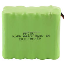 AA/AAA/C/D/SC NiMh battery packs with 2.4V,3.6V,4.8V,6.0V,7.2V,8.4V,9.6V,12.0V