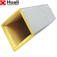 HVAC Fiberglass Duct Insulation Fire Rated Glass Wool Board