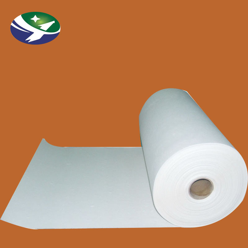 Fire-resistant thermal paper for automobile