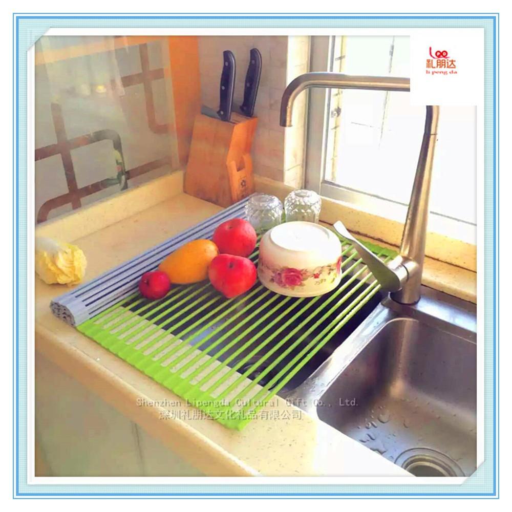 Space Saving Dish Rack Kitchen Sink Accessories Space Saving Kitchen Rack Metal Wire Dish