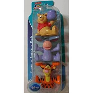 "Fisher Price Disney ""Pooh, Tigger & Eeyore"" Stacking Friends"