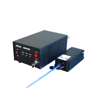 CNI blue Single longitudinal Mode Laser for Holography