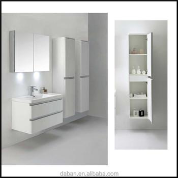 Slim Bathroom Cabinets Set Whole Modular Furniture