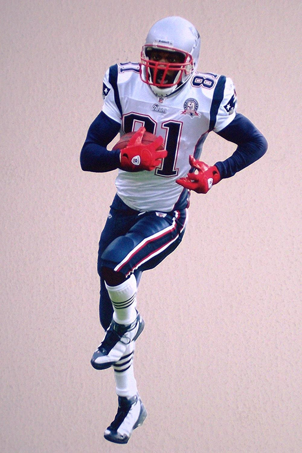 size 40 12a21 200b9 Buy Randy Moss Mini FATHEAD New England Patriots Official ...
