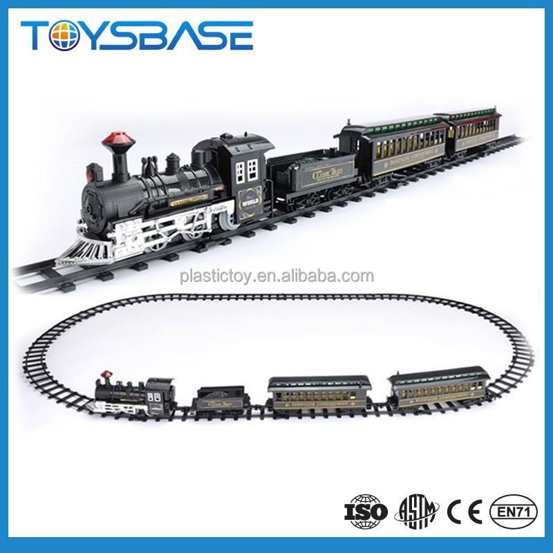 China Wholesale Electric Battery Operated Plastic Toys Set Large Ho Scale Model Train,Train Toy 1779 for Kids