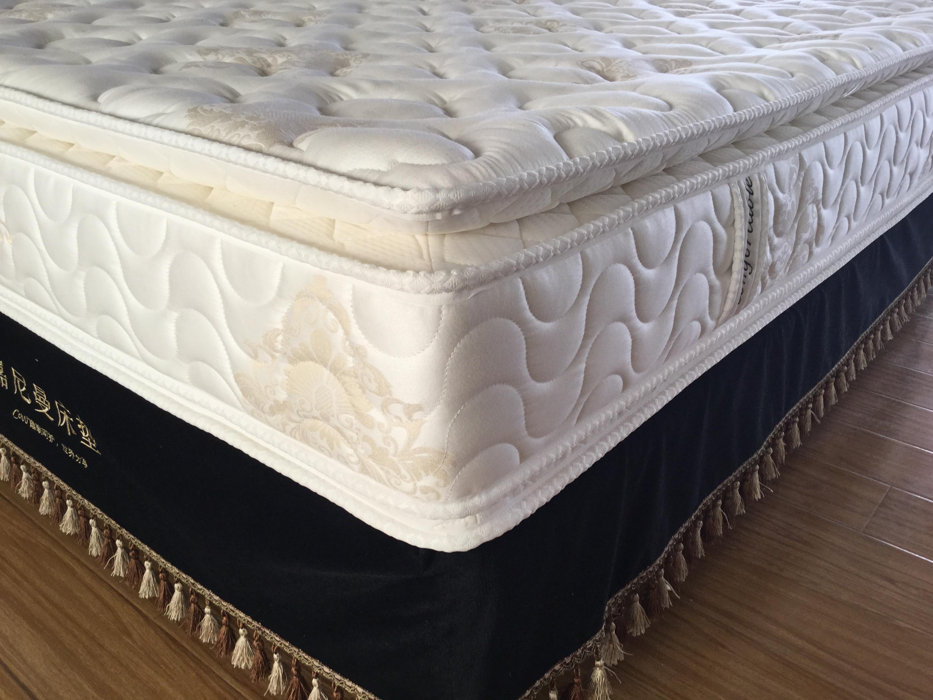 Top grade luxury pocket spring 5 star hotel bed mattress
