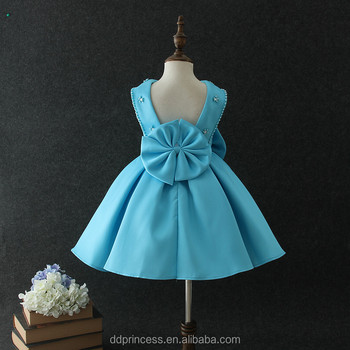 Children Girl 7th Birthday Party Dress Baby Cotton Frock Design For ...