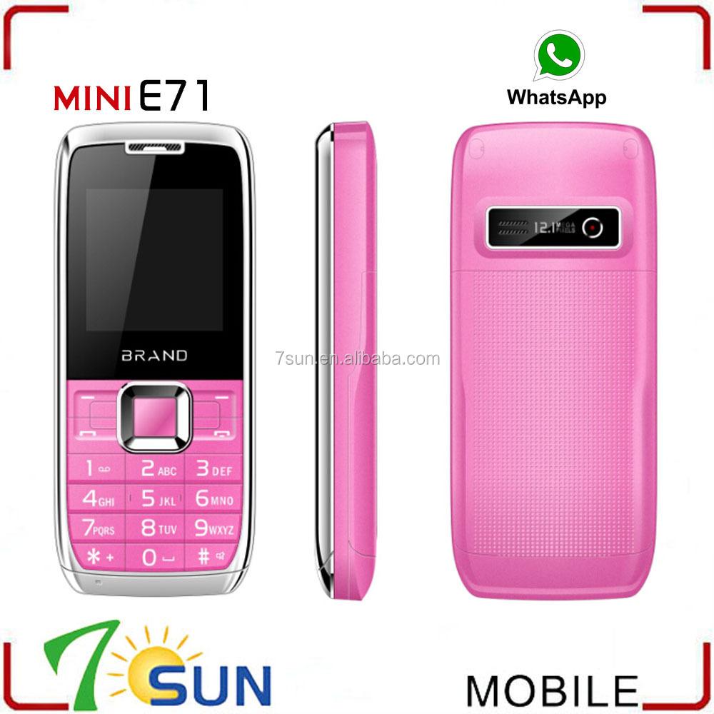 Made In China Mini E71 Doble Sim Whatsapp Worlds Smallest Mobile ...