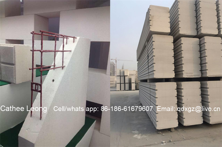 AAC panels/ALC block/AAC bricks for Permanent buildings in 2017