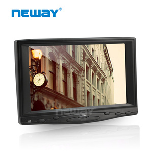 "5-wires resistive touch 7 ""hdmi touchscreen car monitor"