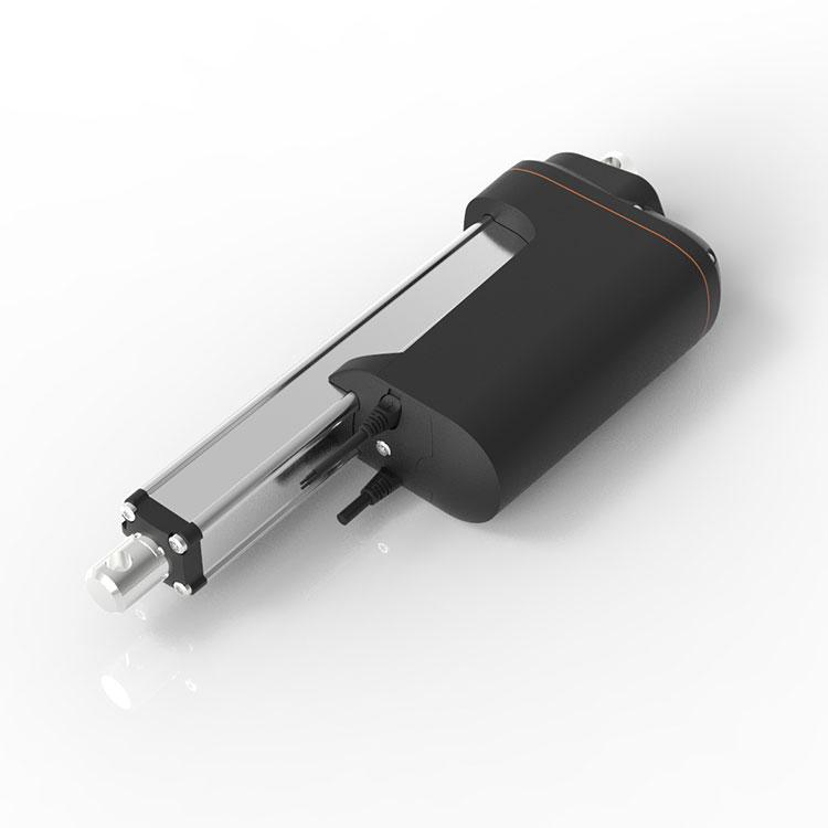 GeMing 12000N wasserdichte DC pinsel motor linear antrieb für schwere industrie mit potentiometer