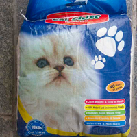 Professional manufacture clumping bentonite lovecat cat litter
