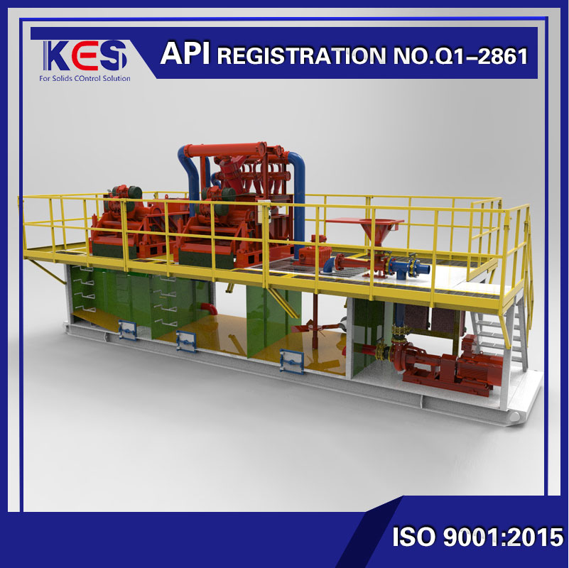 KAMS500 HDD trenchless mud recycling systems