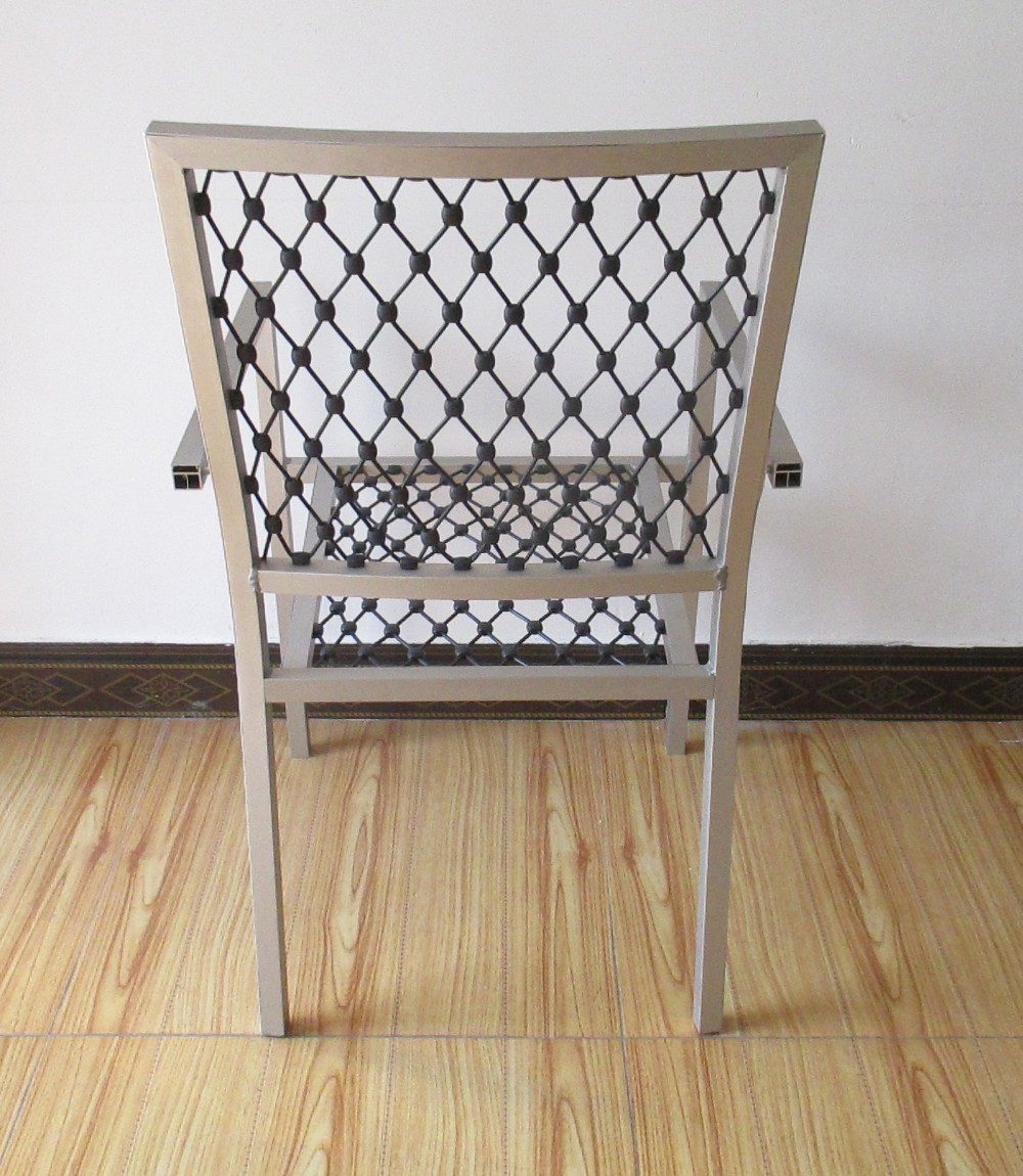 Stainless steel model outdoor dining chair