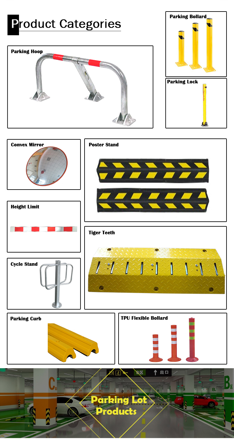 Good quality warehouse security safety rack guards protector bollards