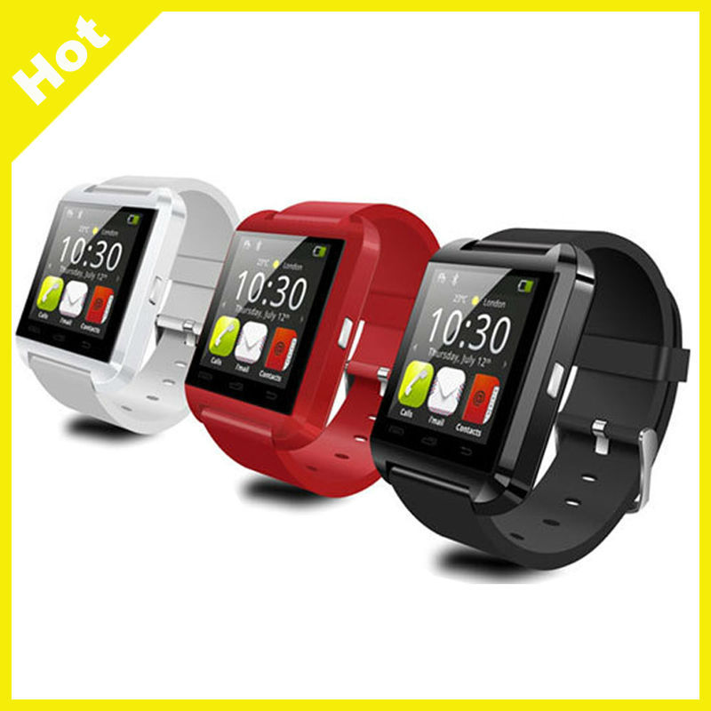 2016 Big Promotion bluetooth u8 smart watch can call, contronl MP3 watch