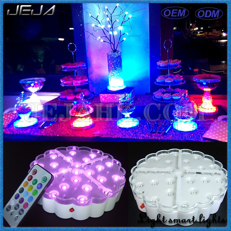 New cheap portable acrylic any color rechargeable battery led light