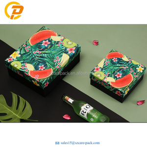 OEM Printing Manufacturer Luxury Hat Silk Cosmetic Paper Gift Packaging Box