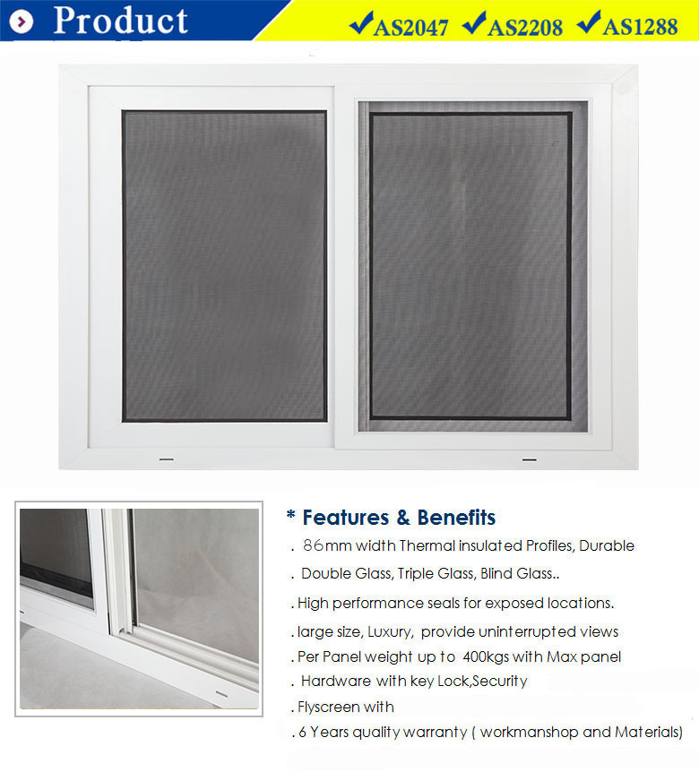 Triangle Window Aluminum Bi Fold Window Sliding Window