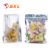 Multi Size Laminated Plastic Material Heat Seal 3 Side Seal Food Sachet for Snack
