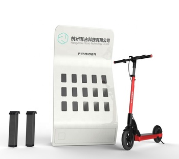 Wholesale GPS Sharing Electric Scooter for Adults/ App Controlled Standing Scooter / Fitrider Scooter Scan to Ride
